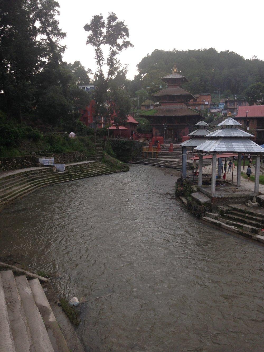 Gokarna Mahadev Temple on the Bagmati River