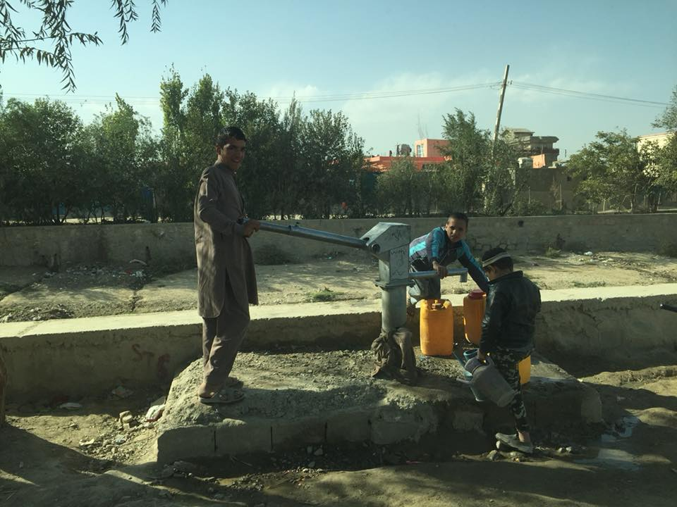 In Kabul the urban poor rely on hand pumps where groundwater levels are rapidly dropping