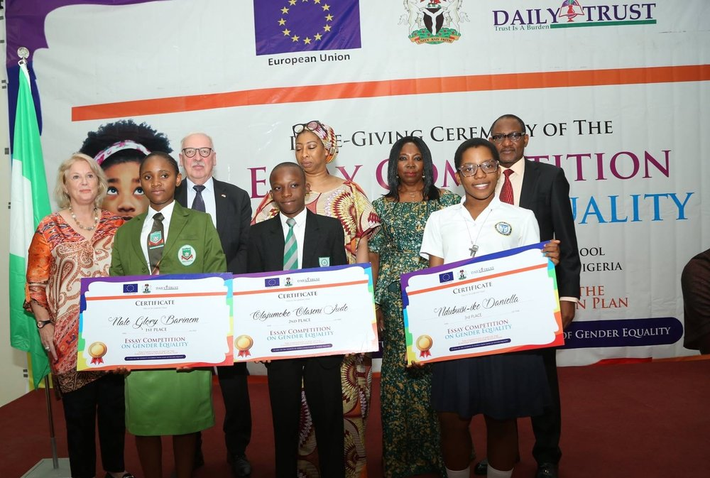 Landell Mills Organises Awards Ceremony For Eu Gender Equality Essay  Ambassador Ketil Karlsen Also Said That Addressing Issues That Bear On  Gender Stereotyping In Nigeria Would Encourage The Participation Of Women  In Key