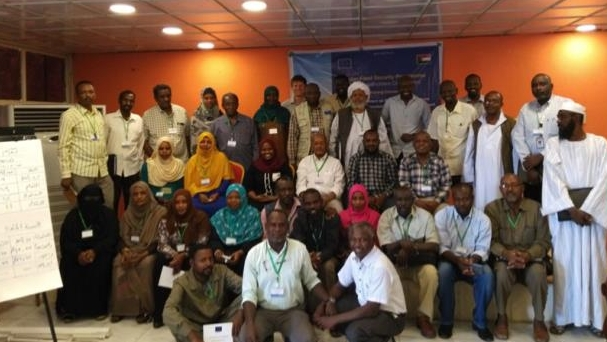 Workshop participants at the closing ceremony