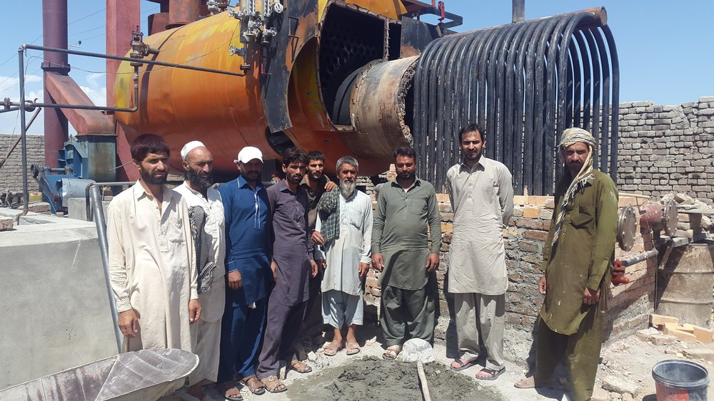 Afghan Rice Processing Mill
