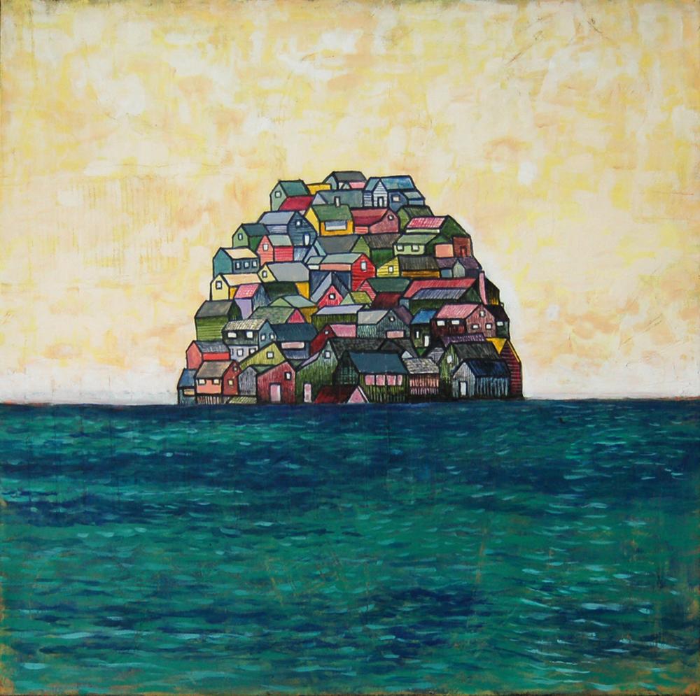 House Pile (Ocean) 2009