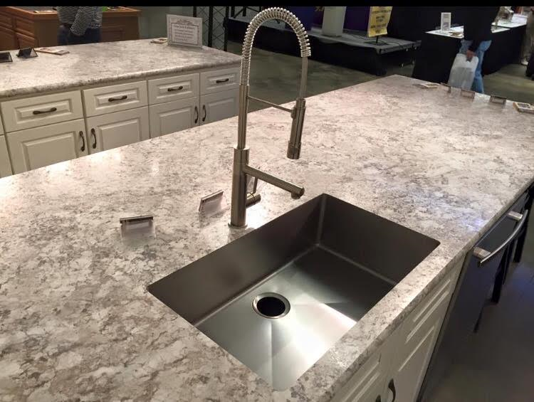 Laminate Custom Edge With Karran Undermount Sink
