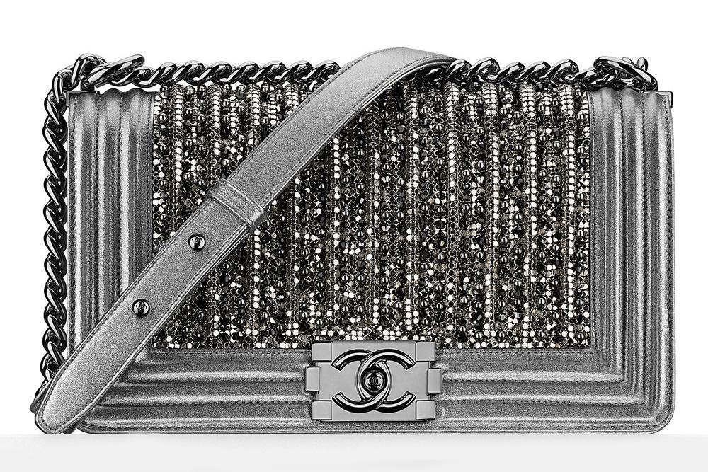 39a41324f45f Chanel embroidered glass and pearl 'Boy' bag. Purseblog. Purseblog