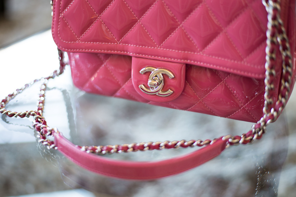 edacc6cf8f3 Then there's the patent vs. caviar vs. lambskin dilemma, and for most  Chanel admirers, the lambskin is prized, as it looks as buttery as it feels.