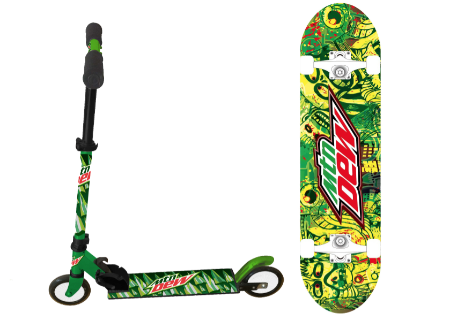 Mountain Dew's New Licensing Partner