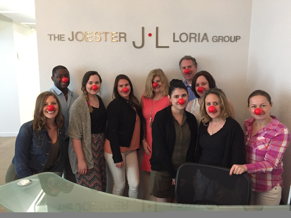 JLG Red Nose Day 2016