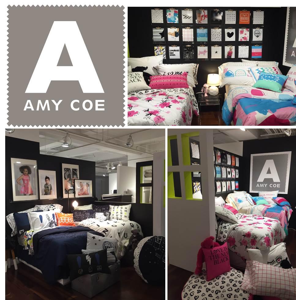 Amy Coe Brand Licensing Bedding