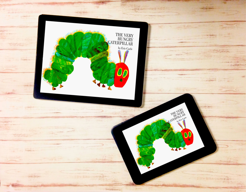Very Hungry Caterpillar E-Book Brand Licensing