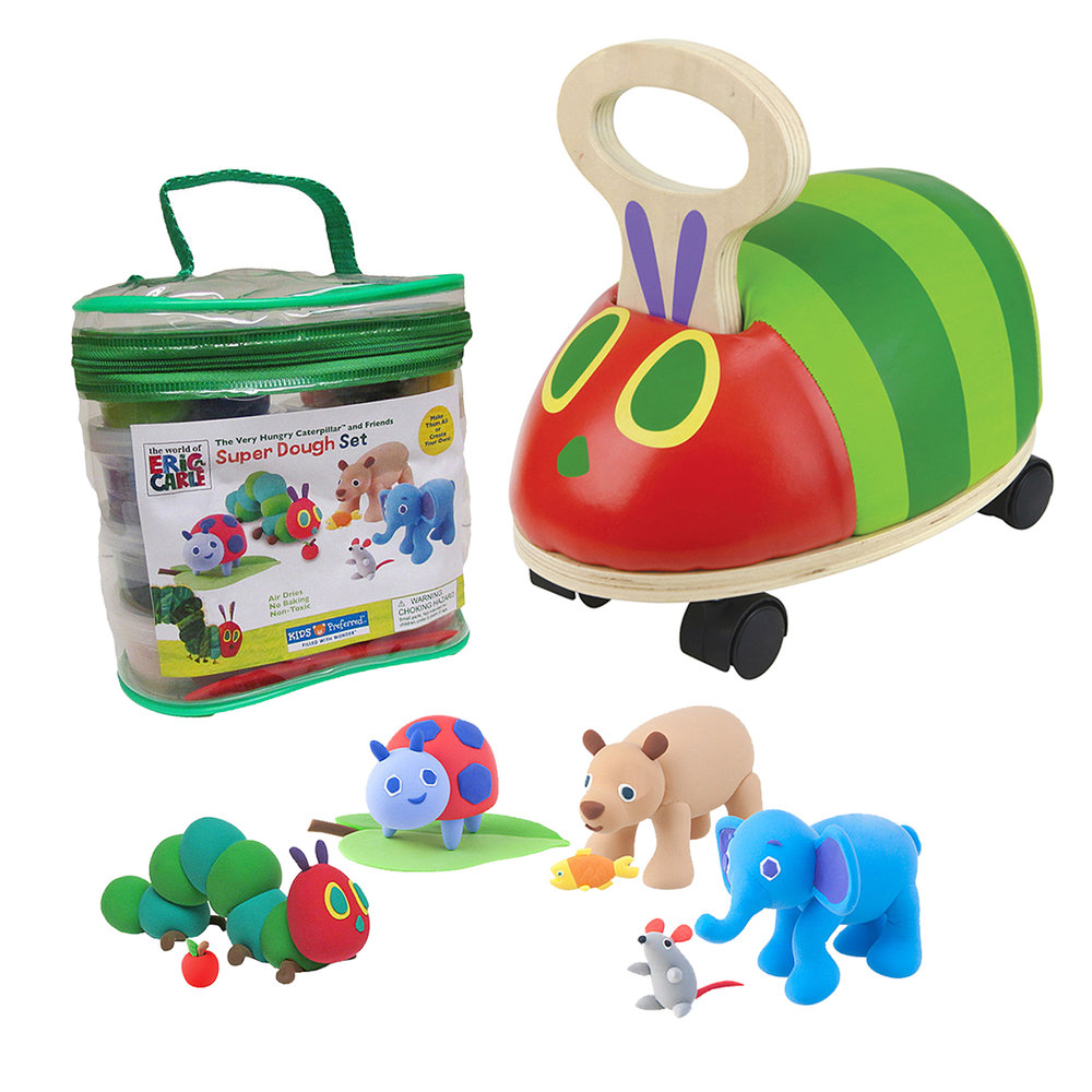 World of Eric Carle Award Winning Toys Licensing