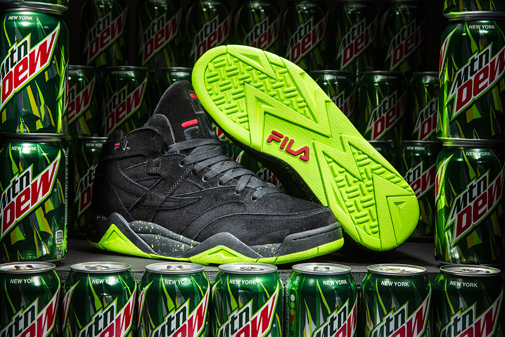 Mountain Dew Green Label FILA M Squad