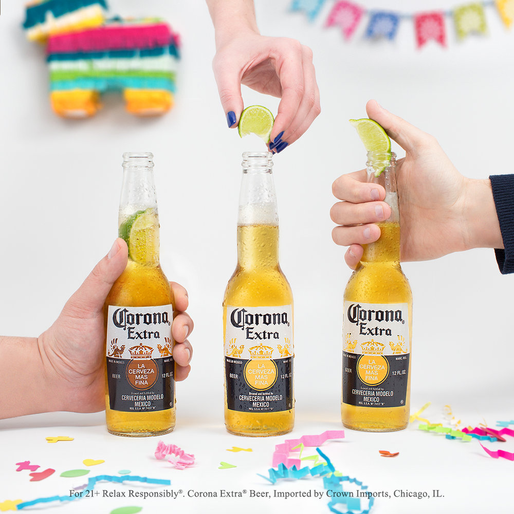 Lime Drop Corona Cinco de Mayo Marketing