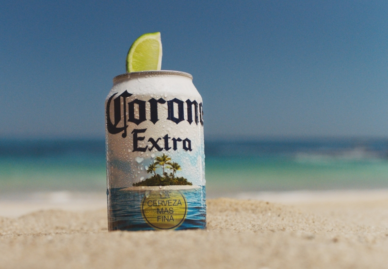Corona Extra Summer Can Brand Licensing