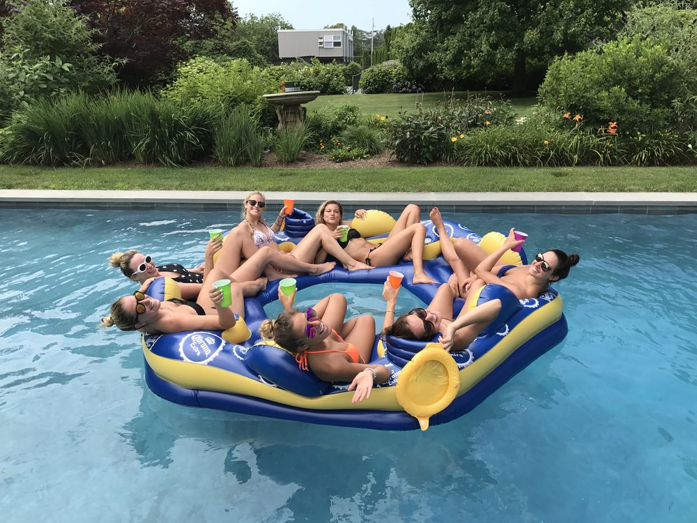 JLG Corona Summer Fun Pool Float