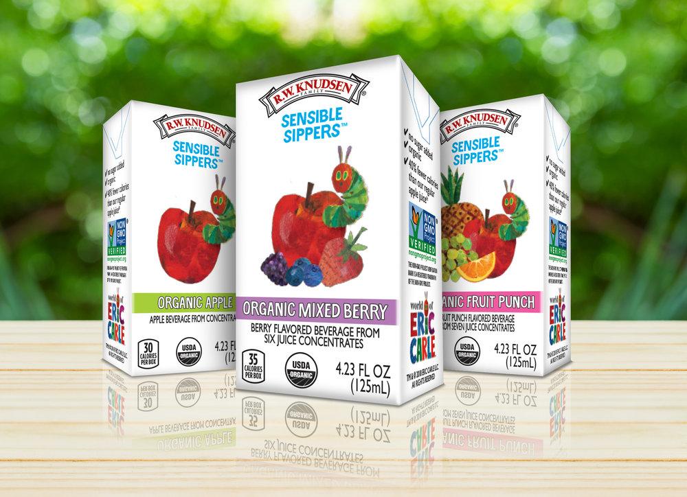 Eric Carle Sensible Sippers Juice Brand Licensing