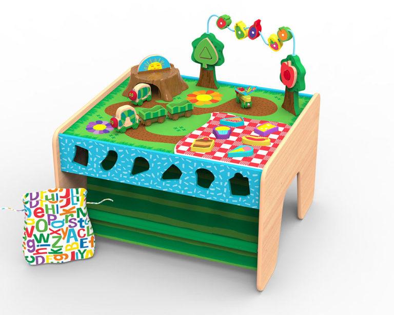 KidKraft World of Eric Carle Wobble /& Wiggle Bead Maze