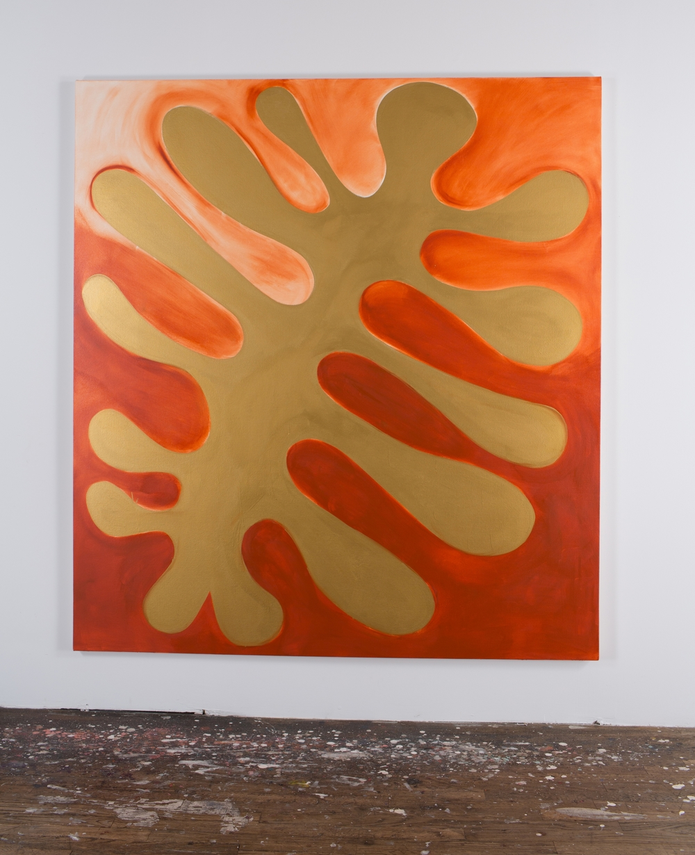The Body Electric, 2015, oil on canvas, 70 x 64 inches