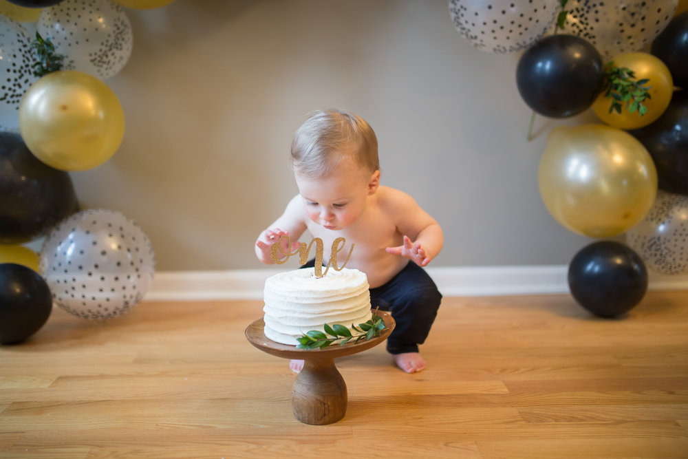 craig's first birthday -