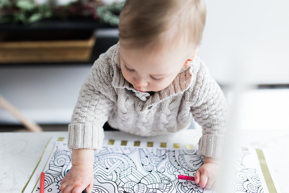 kids, crayons + cocoa -