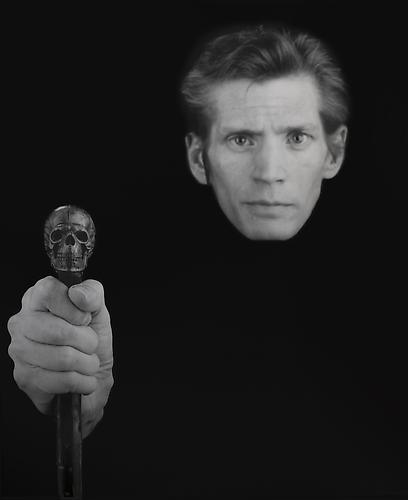 Robert Mapplethorpe,  Self-Portrait , 1989