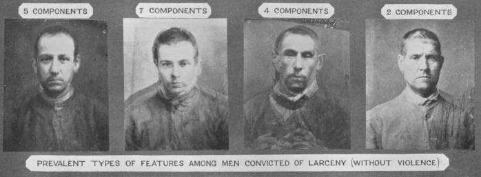Francis Galton,  Criminal Composites,  1878