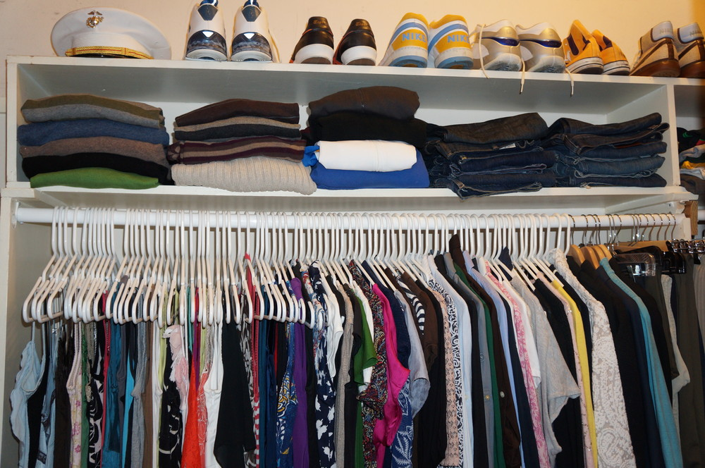 One Day Closet Makeover 01