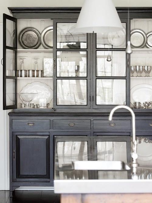 Dark and Elegant Kitchen
