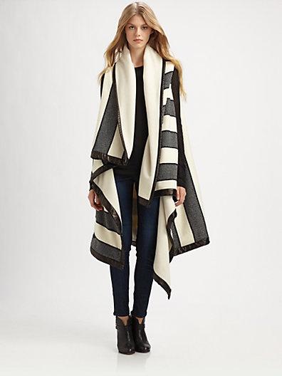 Bajwa Blanket Wrap Coat, Rag and Bone