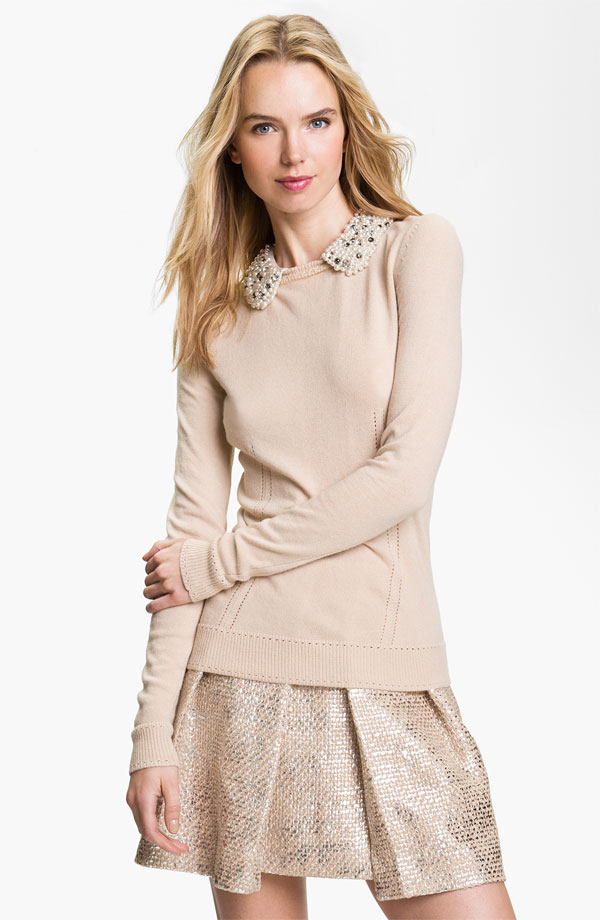 Embellished Sweater, Milly