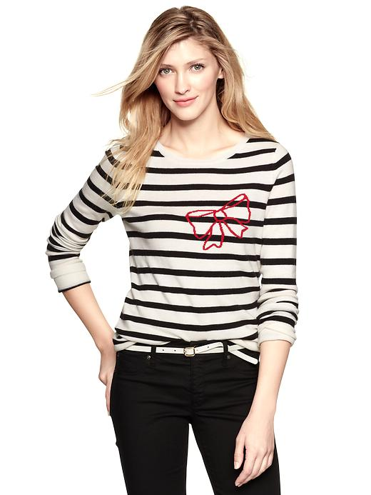 Eversoft Bow Sweater, Gap