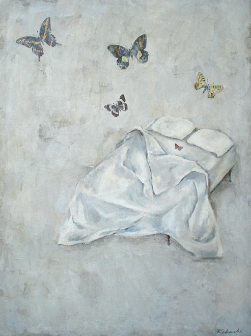 Rebecca Rebouche, Butterflies in Bed