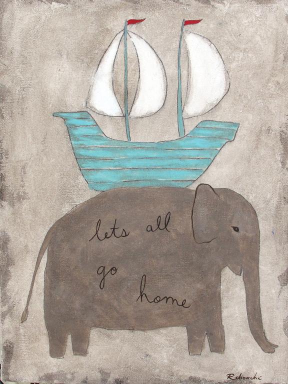 Rebecca Rebouche, Let's Go Home