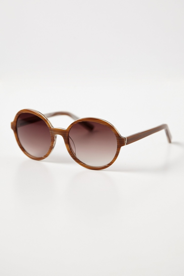 Anthropologie Rounded Horn Sunglasses