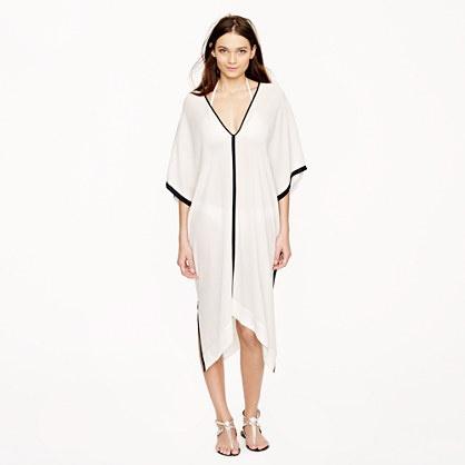 Nili Lotan for J.Crew Silk Kaftan dress