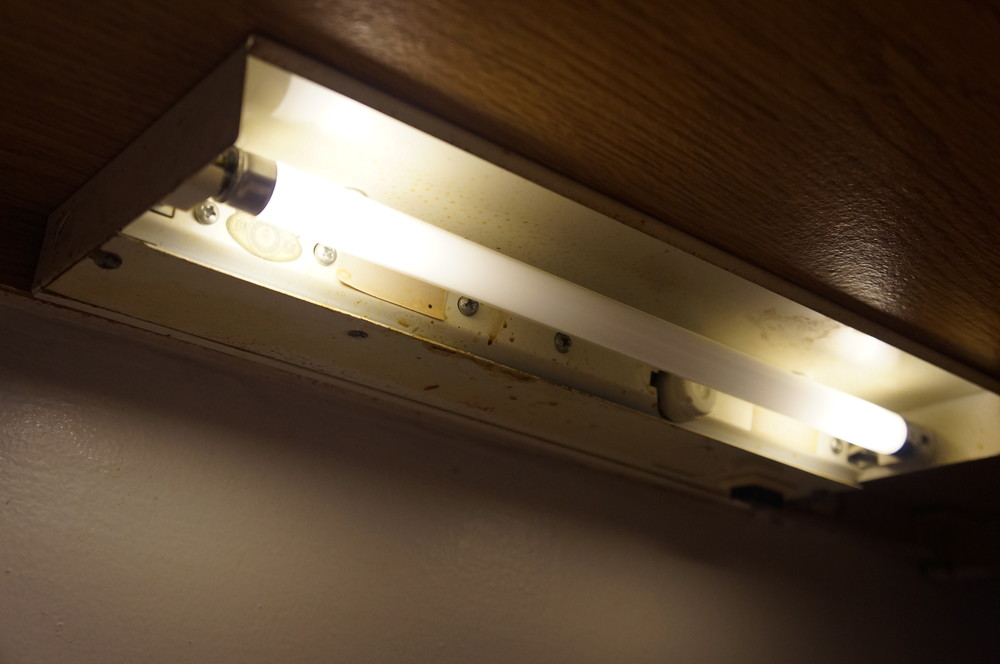 Old undermount lights