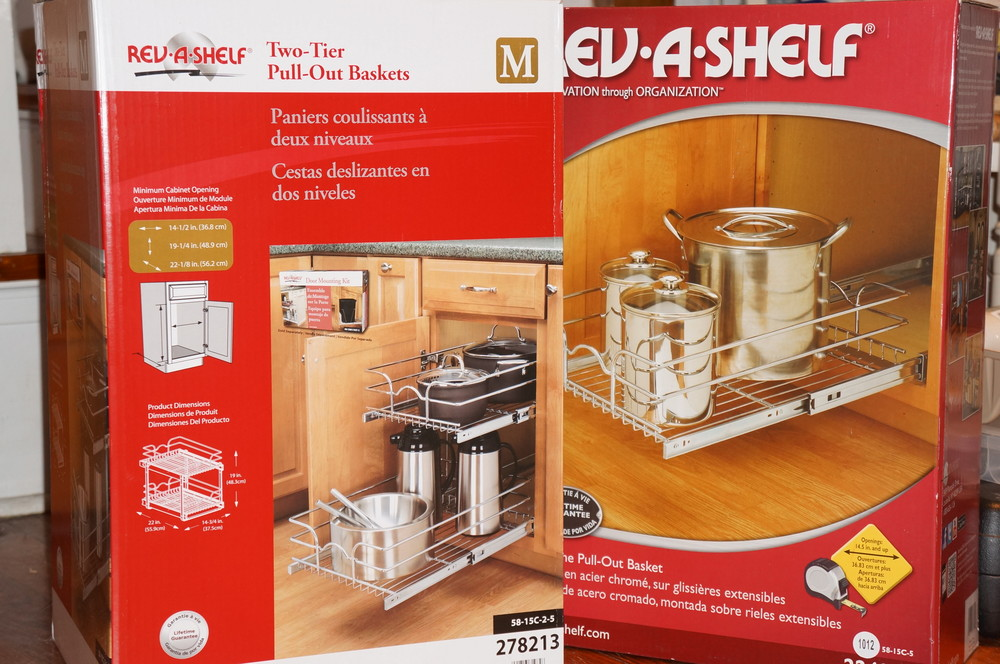 Rev-A-Shelf Organizers