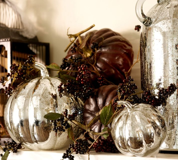 Pumpkins and Berries, Courtesy Pottery Barn