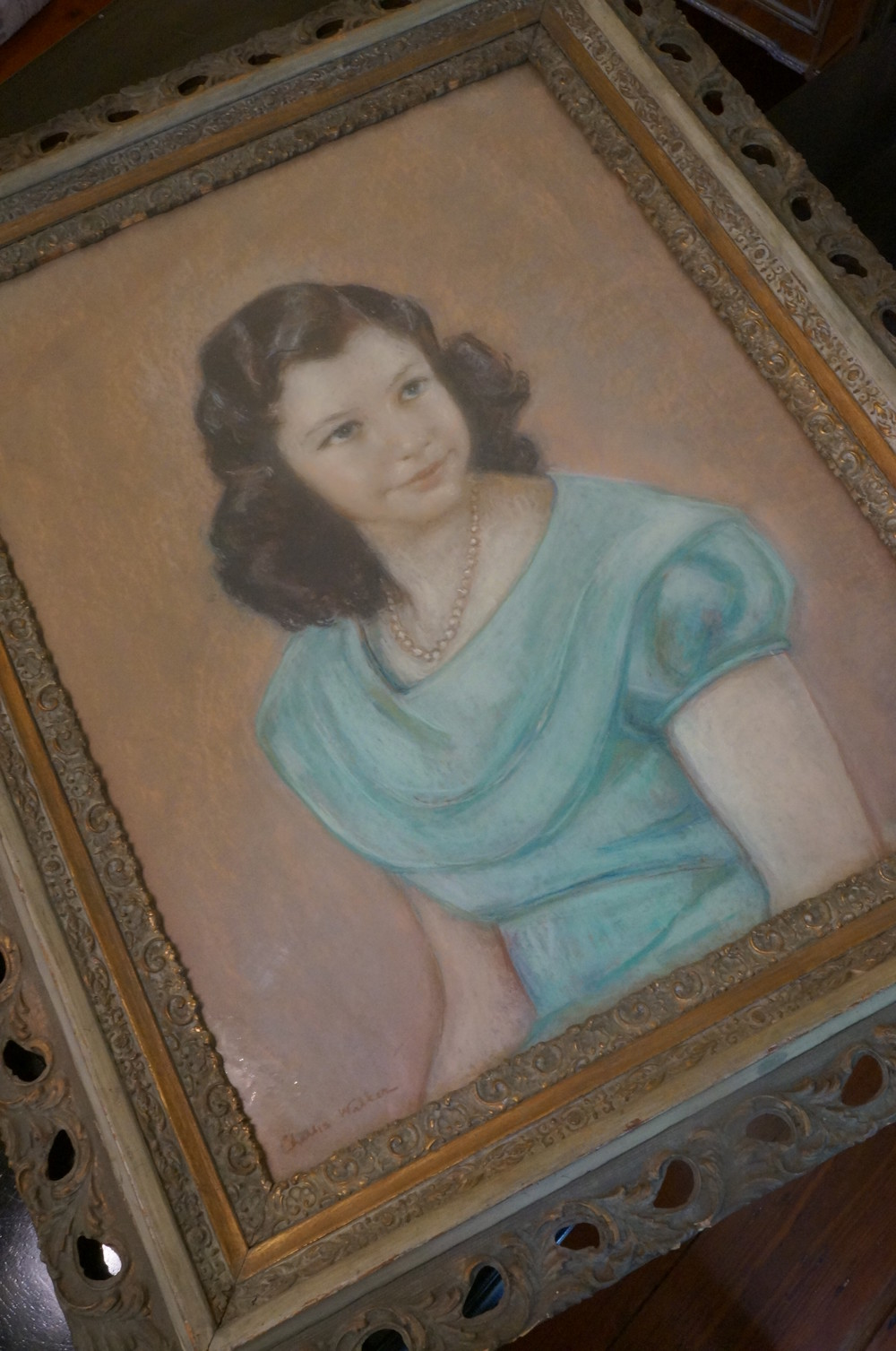 My gorgeous antique frame