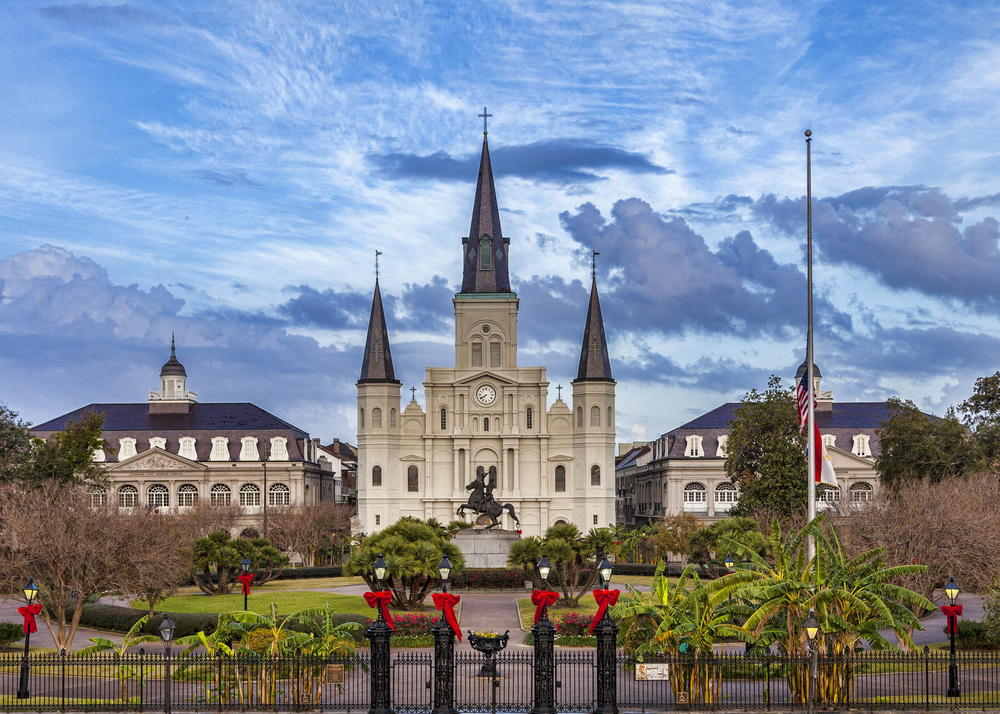 Christmas in Jackson Square, Courtesy Ken Thomann