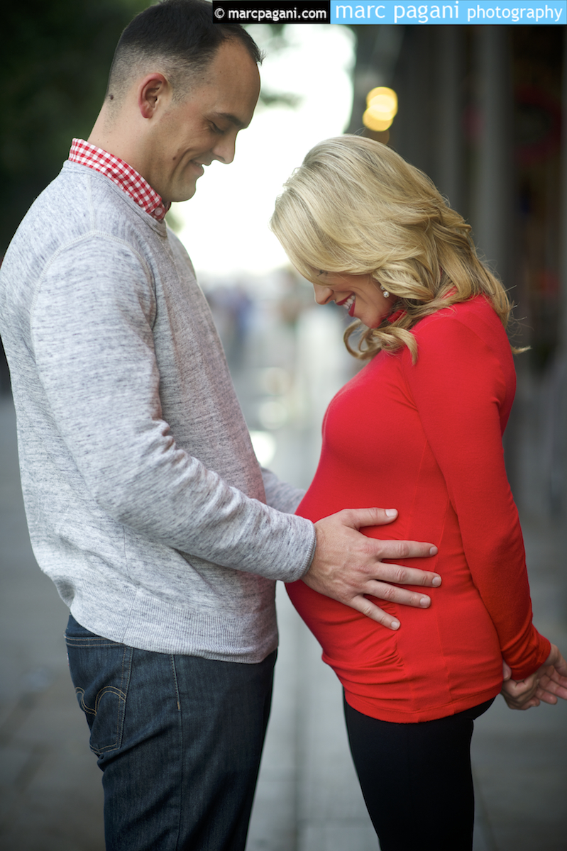 Marc Pagani Maternity Photo Shoot