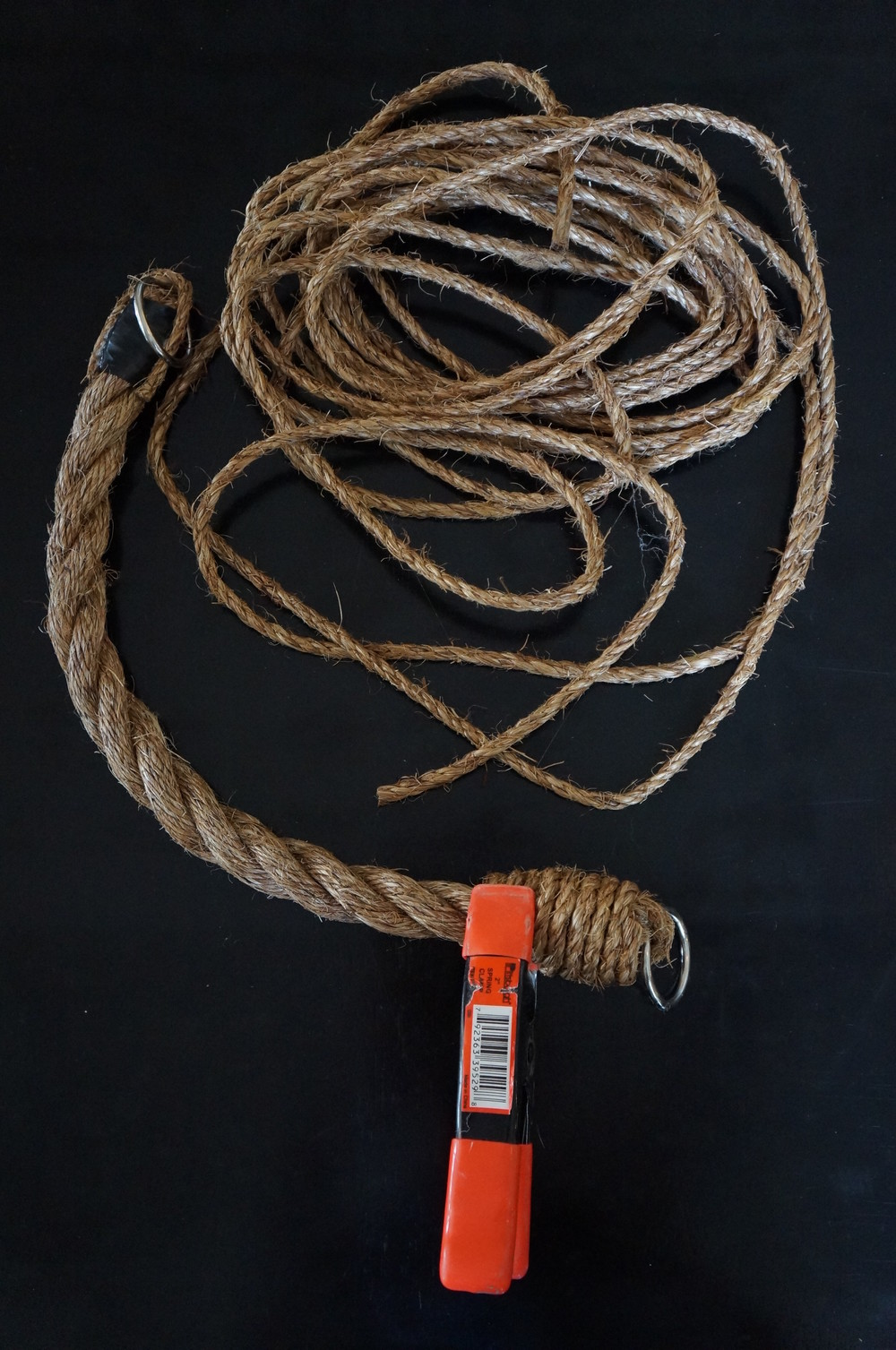 DIY Rope Tiebacks