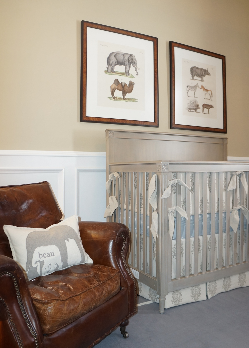 Beau's Safari-Inspired Nursery