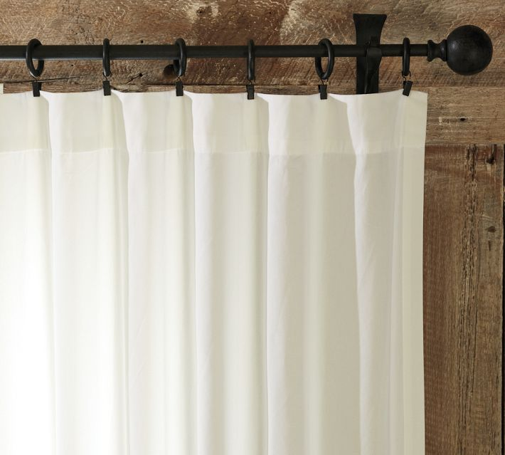Cotton Drape Courtesy Pottery Barn
