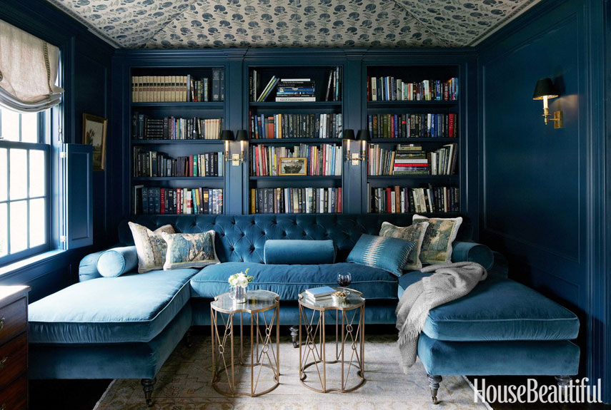 Blue Room, House Beautiful