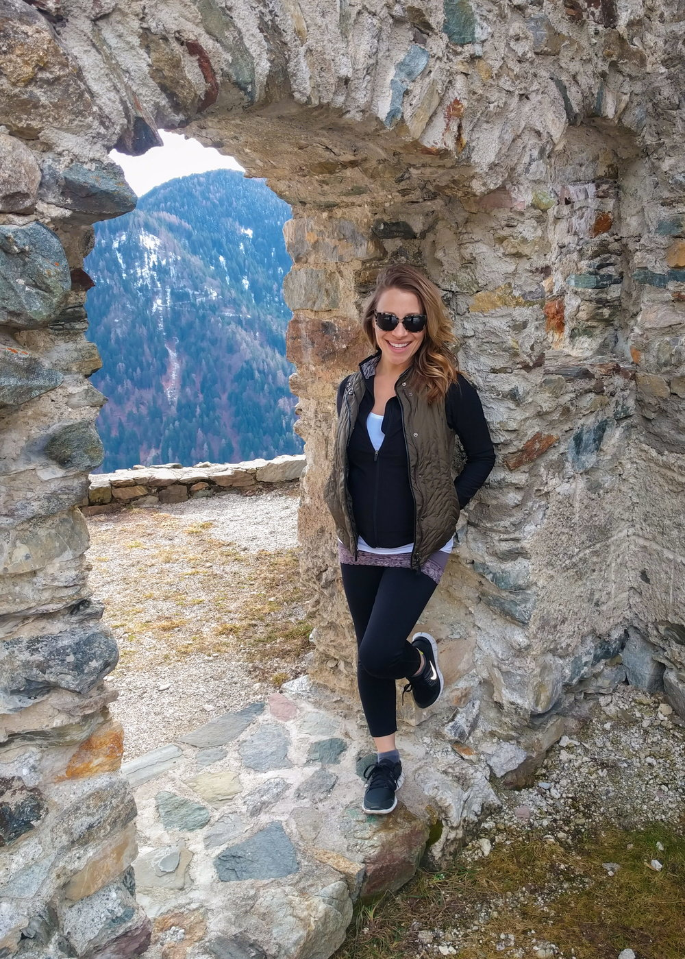 exploring castle altaguardia in trento