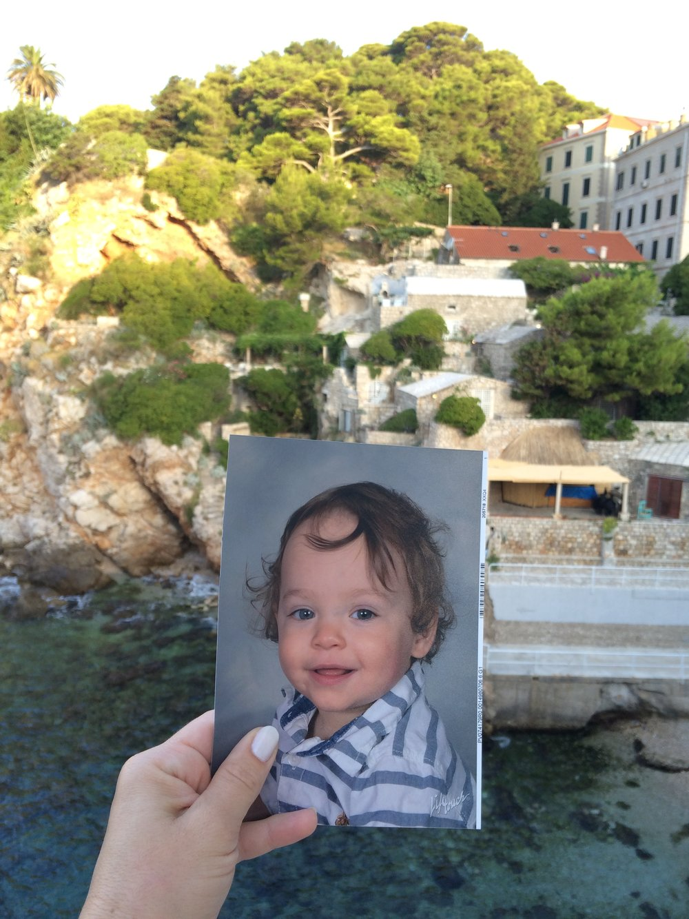 Our first trip to Croatia away from the baby