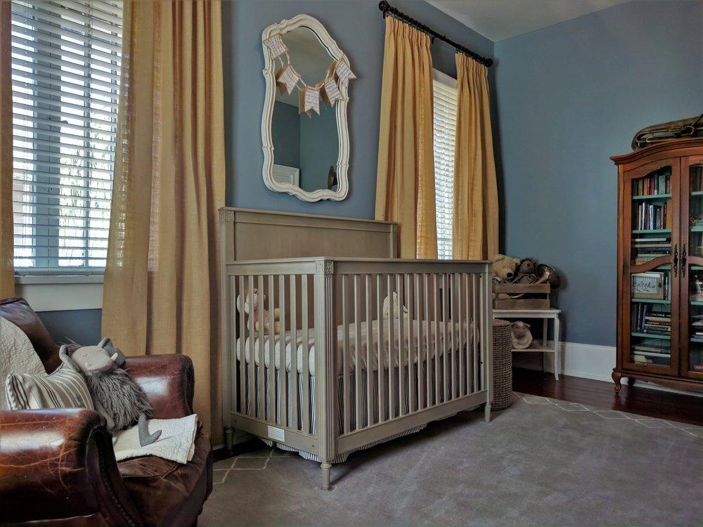 New Orleans Jazz-Inspired Nursery