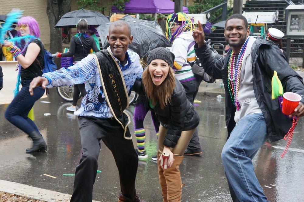 Anne Cutler Mardi Gras Beyond Bourbon Street