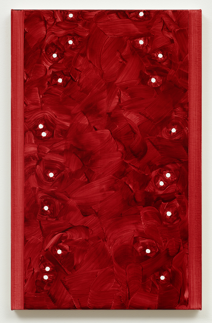 Untitled (Deep Red) 2012