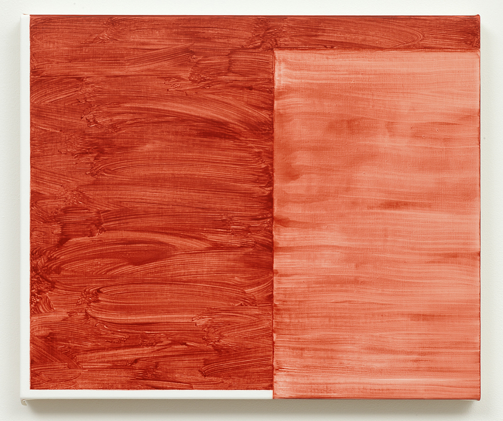 Untitled (Oxide Red) 2012